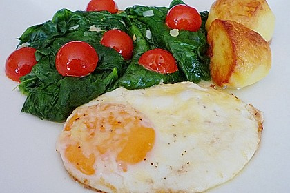 Eier in Sahne - gebacken 2