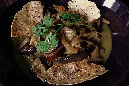 Auberginen - Champignon - Curry 2