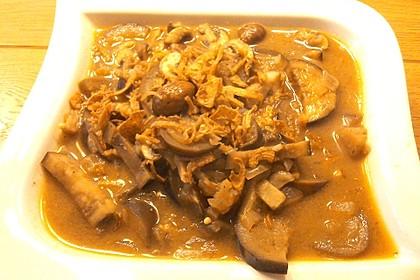 Auberginen - Champignon - Curry 1
