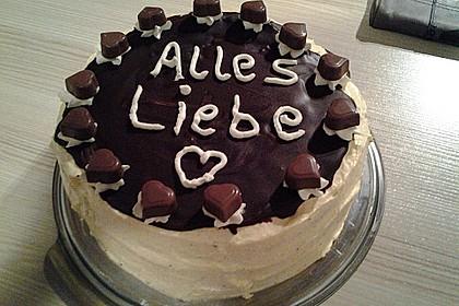 Happy Schoko Vanille Torte Von Damaris16 Chefkoch De