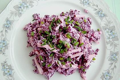 Blaukrautsalat mit Meerrettich