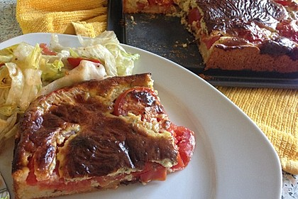 Tomaten - Quiche 2