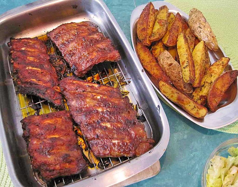 Spareribs Grillen Gasgrill Alufolie : Spare ribs zum grillen oder für den backofen chefkoch