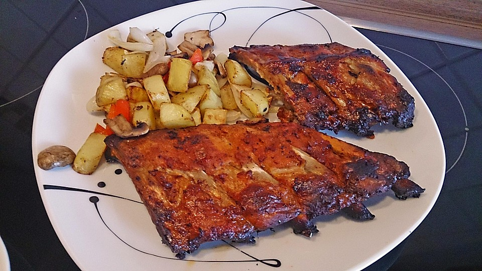 Spareribs Grillen Gasgrill Dauer : Spare ribs zum grillen oder für den backofen chefkoch