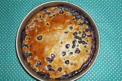 Heidelbeer - Mohn - Kuchen 1