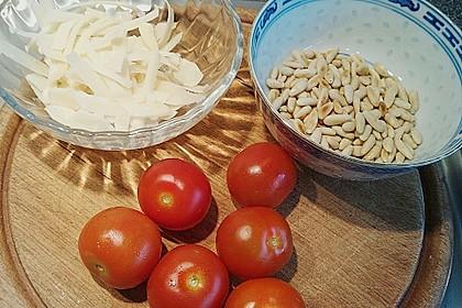 Rucola mit Parmesan 5