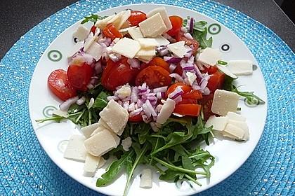 Rucola mit Parmesan 1