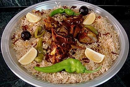 Arabisches Reisgericht Kabse 3