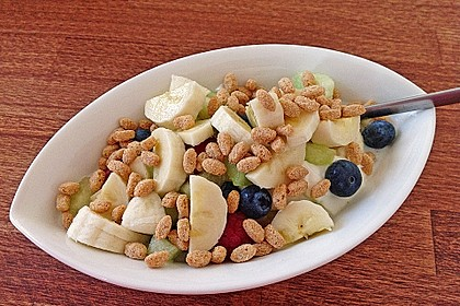 Großer Frühstücksquark 1