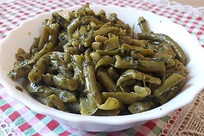 Grüne - Bohnen -  Gemüse