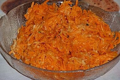 Möhren-Apfel-Salat 9