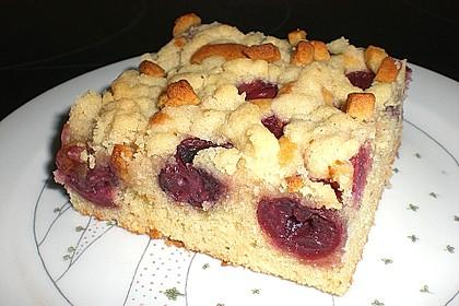 Jockels Kirsch - Marzipan - Streuselkuchen vom Blech