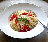 Spaghetti mit Paprika (Bild)