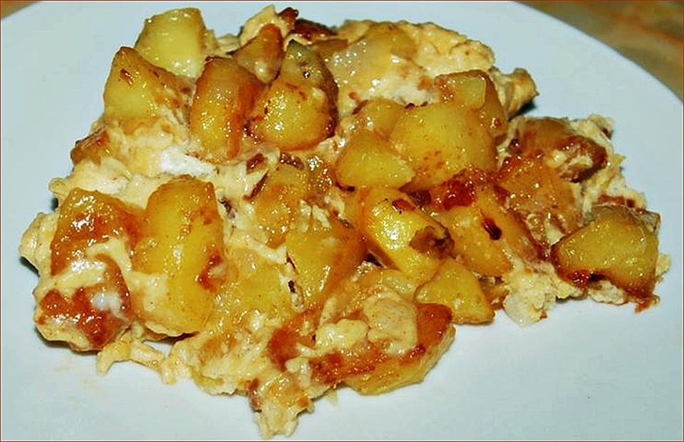 bratkartoffeln mit ei und speck