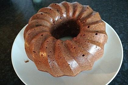 Saftiger Rotweinkuchen (Bild)