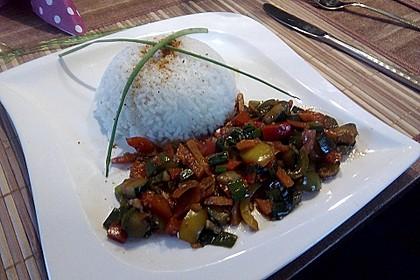 Vegetarisches Chop Suey alla Exuna
