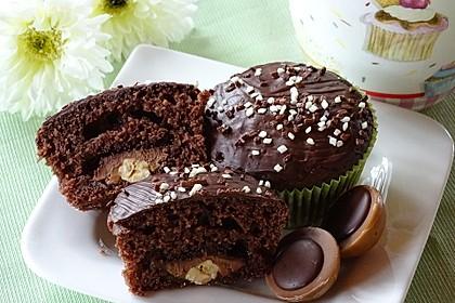 Schoko - Toffifee - Muffins 4