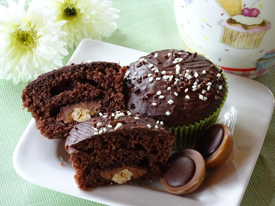 Schoko Toffifee Muffins