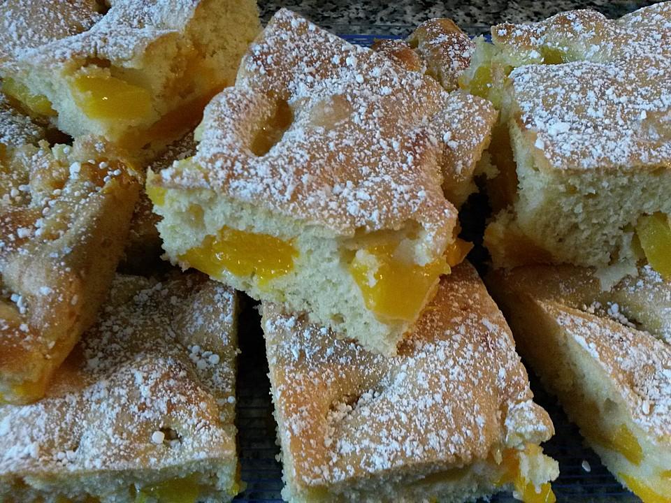 Fruchtiger Mandarinen Kirsch Kuchen Von Atemlos Chefkoch De