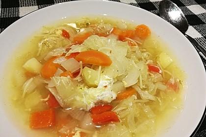 Leckere Gemüsesuppe nach Art von Opa Alois 5
