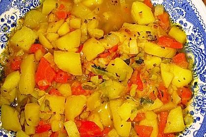 Leckere Gemüsesuppe nach Art von Opa Alois 9
