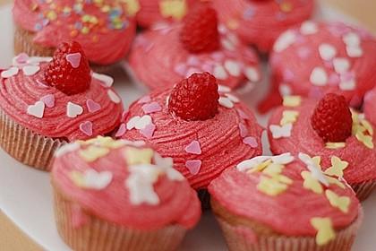 Himbeer Cupcakes (Bild)