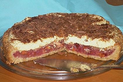 Beschwipster Zwetschgenkuchen mit Sahnehaube 6