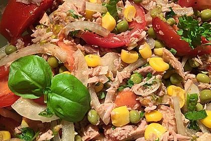 Tomaten - Thunfisch - Salat