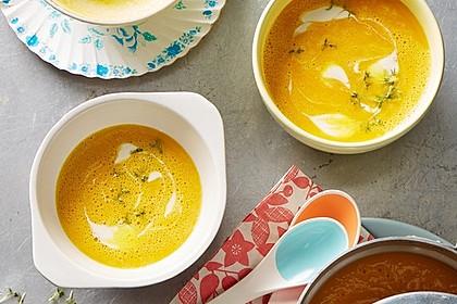 Kürbis - Orangen - Suppe - Ein sehr schönes Rezept | Chefkoch