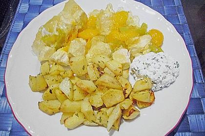 Geflügel - Mandarinen - Sülze 2