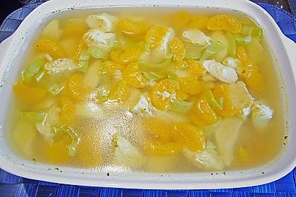Geflügel - Mandarinen - Sülze 1