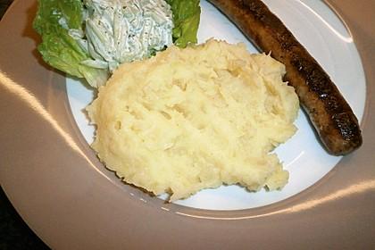Pikanter Kartoffelbrei mit Knoblauch (Bild)