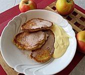 Pfannkuchen mit Äpfeln (Bild)