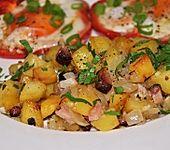 Bratkartoffeln aus dem Backofen (Bild)