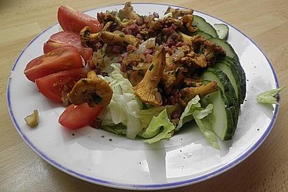 Sommersalat mit Pfifferlingen 2