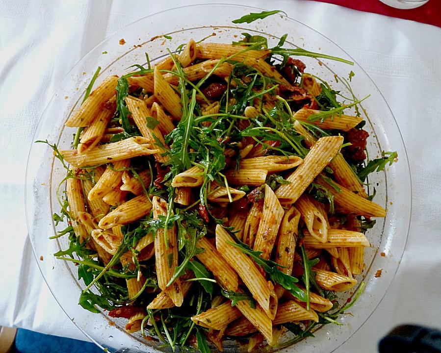 Eckis Italienischer Nudelsalat Mit Pesto Von Kiristini Chefkochde