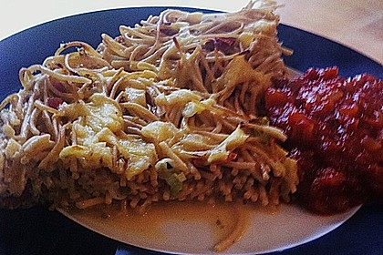 Spaghetti - Muffins mit Tomatensauce 7