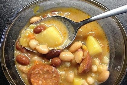 Bohnensuppe à la Mama 5
