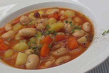 Bohnensuppe à la Mama 1