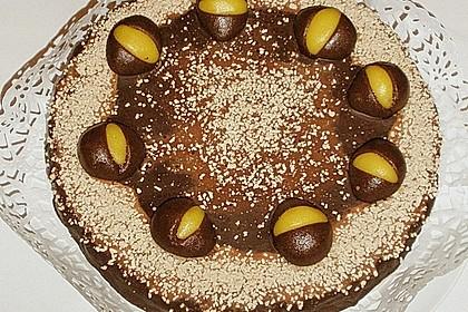 Kastaniencreme - Torte