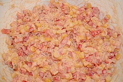Paprika - Mais - Salat