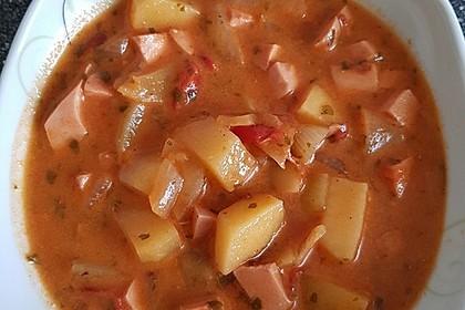 Kartoffel - Wurst - Gulasch 8