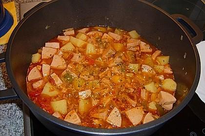 Kartoffel - Wurst - Gulasch 5