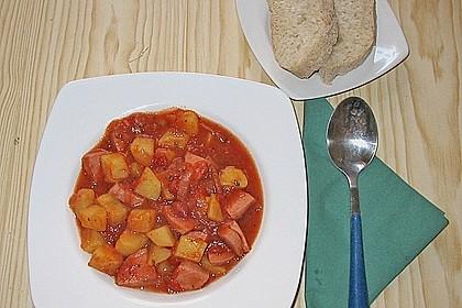 Kartoffel - Wurst - Gulasch 9