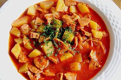 Kartoffel - Wurst - Gulasch 4