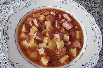 Kartoffel - Wurst - Gulasch 2