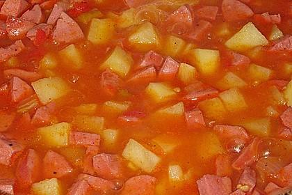 Kartoffel - Wurst - Gulasch 10