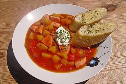 Kartoffel - Wurst - Gulasch 12