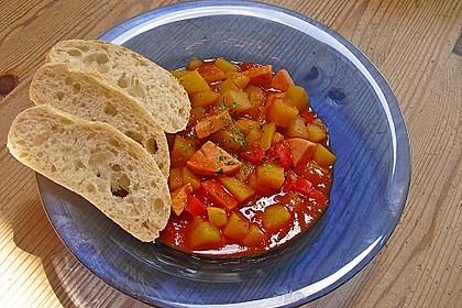 Kartoffel - Wurst - Gulasch 6