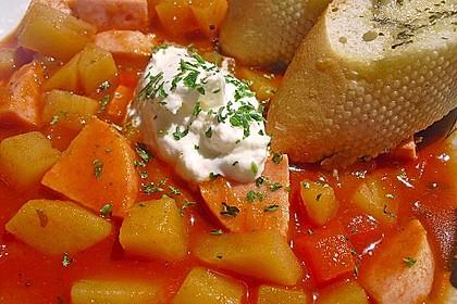 Kartoffel - Wurst - Gulasch